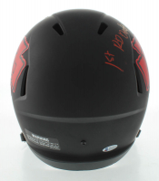 """Clyde Edwards-Helaire Signed Chiefs Full-Size Eclipse Alternate Speed Helmet Inscribed """"1st Rd Draft Pick"""" (Beckett COA) at PristineAuction.com"""