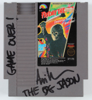 "Ari Lehman Signed Original 1989 ""Friday the 13th"" Nintendo NES Video Game Cartridge Inscribed ""Game Over!"" & ""The OG Jason"" (PA COA) at PristineAuction.com"