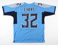 Darrynton Evans Signed Jersey (JSA Hologram) at PristineAuction.com