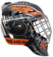 "Ron Hextall Signed Flyers Full Size Goalie Mask Inscribed ""87 Conn Smythe"" (JSA COA) at PristineAuction.com"