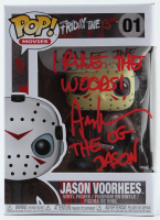 "Ari Lehman Signed ""Friday the 13th"" - Jason Voorhees #01 Funko Pop! Vinyl Figure Inscribed ""I Rule the Woods!"" & ""The OG Jason"" (PA COA) at PristineAuction.com"