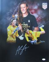 Alyssa Naeher Signed Team USA Womens Soccer 16x20 Photo (JSA COA) at PristineAuction.com