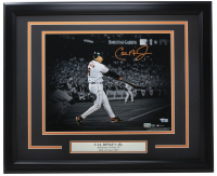 Cal Ripken Jr. Signed Orioles 16x20 Custom Framed Photo Display (MLB Hologram & Fanatics Hologram) at PristineAuction.com