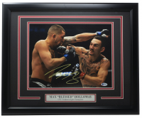 """Max """"Blessed"""" Holloway Signed UFC 16x20 Custom Framed Photo Display (Beckett COA) at PristineAuction.com"""