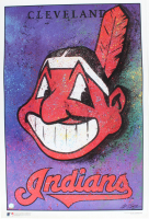 Bill Lopa Signed Indians 24x36 Print (PA LOA) at PristineAuction.com
