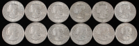 Lot of (12) Susan B. Anthony $1 One Dollar Coins at PristineAuction.com