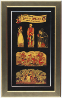 "Vintage 1939 ""Snow White and the Seven Dwarfs"" 13.5x21.5 Custom Framed Post Toasties Cereal Box Cutout Display at PristineAuction.com"
