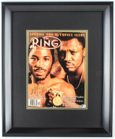 Joe Frazier & Marvis Frazier Signed 19x23 Custom Framed Photo (Beckett COA) at PristineAuction.com