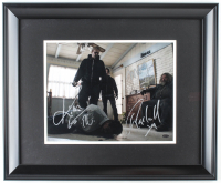 "Charlie Hunnam, Kim Coates, & Mark Boone Jr. Signed ""Sons of Anarchy"" 19x23 Custom Framed Photo (Leaf COA) at PristineAuction.com"