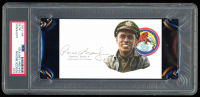 Roscoe Brown Jr. Signed 3x5 Cut (PSA Encapsulated) at PristineAuction.com