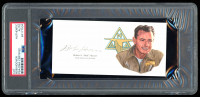 Bob Hoover Signed 3x5 Cut (PSA Encapsulated) at PristineAuction.com