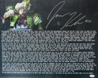 Jason Kelce Signed Super Bowl Speech 16x20 Photo (JSA COA) at PristineAuction.com