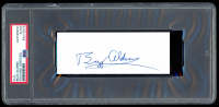 Buzz Aldrin Signed 2x5 Cut (PSA Encapsulated) at PristineAuction.com