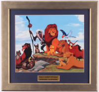 "Walt Disney's ""The Lion King"" 16.5x17.5 Custom Framed Animation Serigraph Cel at PristineAuction.com"