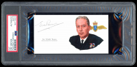 Eric Brown Signed 2.5x5.25 Cut (PSA Encapsulated) at PristineAuction.com