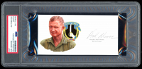 Hal Moore Signed 2.75x5.5 Cut (PSA Encapsulated) at PristineAuction.com