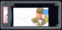 Bruce Crandall Signed 3x5.5 Cut (PSA Encapsulated) at PristineAuction.com