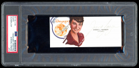 Jeana Yeager Signed 2.25x5 Cut (PSA Encapsulated) at PristineAuction.com