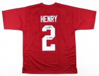 "Derrick Henry Signed Jersey Inscribed ""'15 Heisman"" (Beckett COA) at PristineAuction.com"