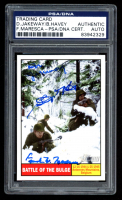 2009 Topps American Heritage Heroes #120 Battle of The Bulge Signed by (3) with Don Jakeway, Birney Havey, & Frank Maresca (PSA Encapsulated) at PristineAuction.com