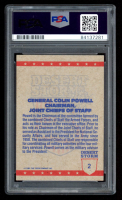 Colin Powell Signed 1991 Desert Storm Topps #2 (PSA Encapsulated) at PristineAuction.com