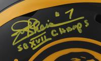 "Joe Theismann Signed Redskins Full-Size Eclipse Alternate Speed Helmet Inscribed ""SB XVII Champs"" (JSA COA) at PristineAuction.com"