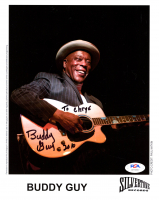 "Buddy Guy Signed 8x10 Photo Inscribed ""2010"" (PSA COA) at PristineAuction.com"