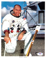 """Alan Bean Signed 8x10 Photo Inscribed """"Keep Up The Good Work"""" (PSA COA) at PristineAuction.com"""