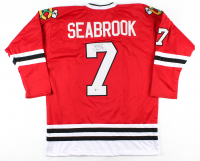Brent Seabrook Signed Jersey (Beckett COA) at PristineAuction.com