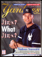 Derek Jeter Signed 1997 Yankees Magazine (JSA COA) at PristineAuction.com