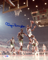 Elgin Baylor Signed Lakers 8x10 Photo (PSA COA) at PristineAuction.com