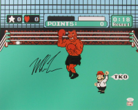 "Mike Tyson Signed ""Punch-Out!!"" 16x20 Photo (JSA COA & Fiterman Hologram) at PristineAuction.com"