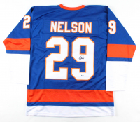 Brock Nelson Signed Jersey (Beckett COA) at PristineAuction.com