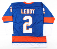 Nick Leddy Signed Jersey (Beckett COA) at PristineAuction.com