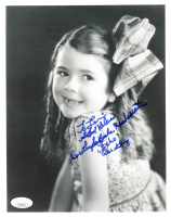 """Dorothy DeBorba Signed 'Our Gang"""" 8x10 Photo Inscribed """"God Bless"""", """"Echo"""", Our Gang"""" (JSA COA) at PristineAuction.com"""