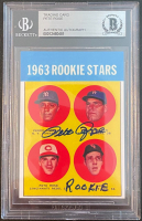"""Pete Rose Signed Rookie Reprint Card Inscribed """"Rookie"""" (BGS Encapsulated) at PristineAuction.com"""