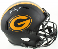 Brett Favre Signed Packers Eclipse Alternate Speed Full-Size Helmet (Schwartz Sports COA & Radtke Hologram) at PristineAuction.com
