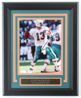 Dan Marino Signed Dolphins 13x16 Custom Framed Photo Display (JSA COA) at PristineAuction.com