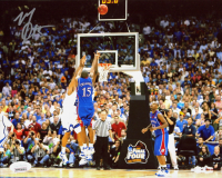 Mario Chalmers Signed Kansas Jayhawks 8x10 Photo (JSA COA) at PristineAuction.com