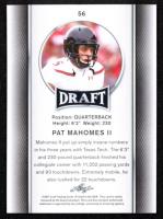 Pat Mahomes II 2017 Leaf Draft #56 at PristineAuction.com