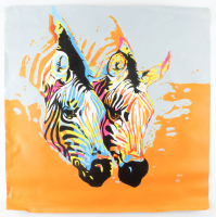 "Rodney Weng - ""Double Delight"" 29x30 Original Oil Panting on Linen (PA LOA) at PristineAuction.com"