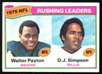Walter Payton / O.J. Simpson 1977 Topps #3 Rushing Leaders at PristineAuction.com