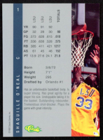 Shaquille O'Neal 1992 Classic Four Sport #1 at PristineAuction.com