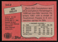 Jim Kelly 1987 Topps #362 RC at PristineAuction.com