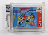 "2001 ""The Powerpuff Girls: Chemical X-traction"" BAM! N64 Video Game (WATA 9.8) at PristineAuction.com"