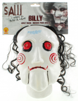 """Tobin Bell Signed """"Saw"""" Mask Inscribed """"Jigsaw"""" (Beckett COA) at PristineAuction.com"""