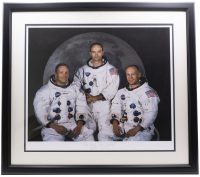 "Historical Photo Archive - Apollo 11 ""The Eagle Has Landed"" Limited Edition 16.5x22 Custom Framed Fine Art Giclee on Paper # / 375 (Historical Photo Archive LOA) at PristineAuction.com"