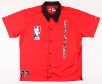 Michael Jordan Bulls Warm-Up Shirt at PristineAuction.com