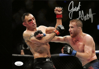 Justin Gaethje Signed UFC 8x10 Photo (JSA COA) at PristineAuction.com