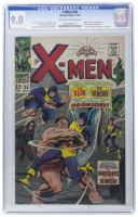 """X-Men"" Issue #38 Marvel Comic Book (CGC 9.0) at PristineAuction.com"